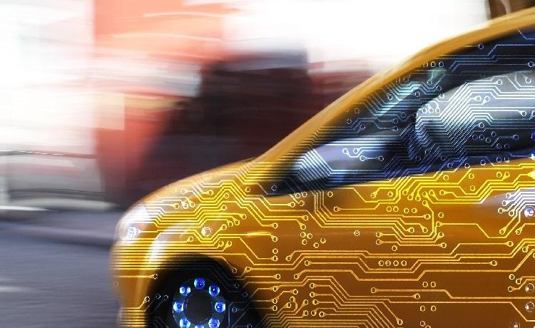 خودروهای متصل که با دادهها سروکار دارند.