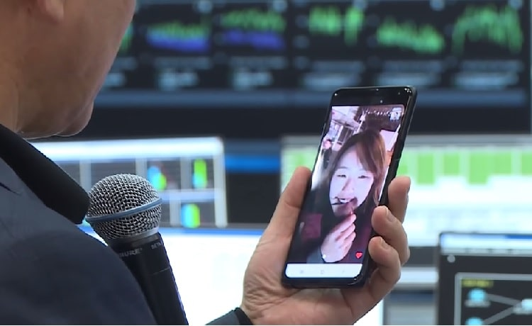 اولین تماس ویدئویی 5جی در کره جنوبی