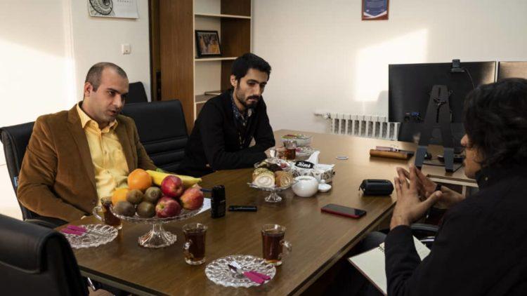 مصاحبه رضا جمیلی با مدیرعامل ماکسیم
