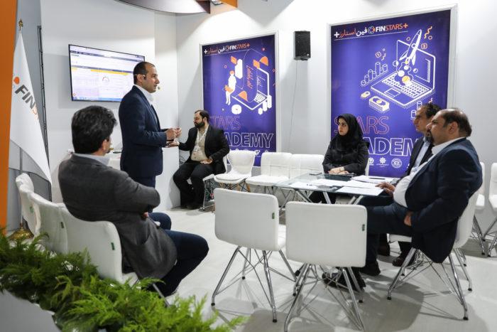 جلسات ارزیابی استارتاپهای شرکت کننده در نمایشگاه فین استارز