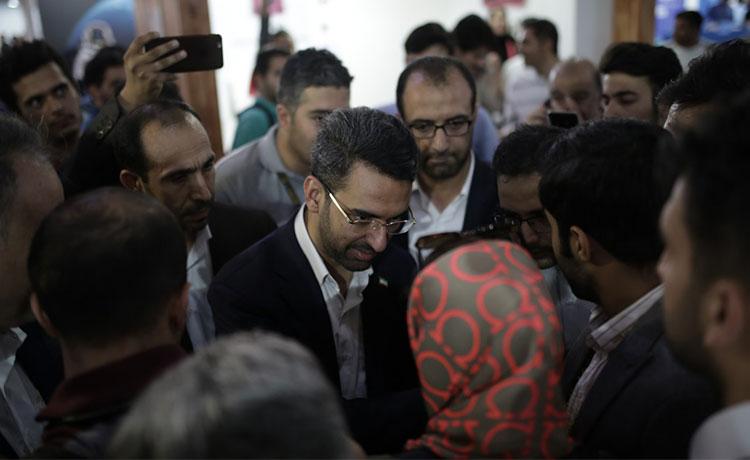 بازدید محمدجواد آذری جهرمی از الکامپ 98